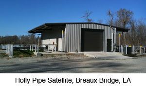 Holly Pipe satellite, Breaux Bridge, LA